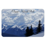 "Olympic National Park 4""x6"" Magnet"