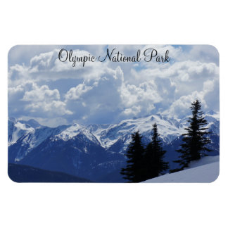 """Olympic National Park 4""""x6"""" Magnet"""