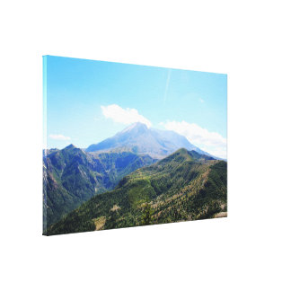 Olympic National Park at Seattle, U.S.A. Canvas Print