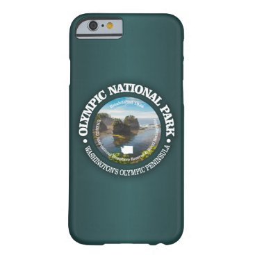 USA Themed Olympic National Park Barely There iPhone 6 Case