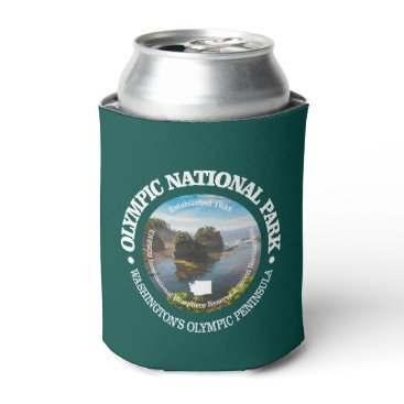 USA Themed Olympic National Park Can Cooler