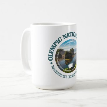 USA Themed Olympic National Park Coffee Mug