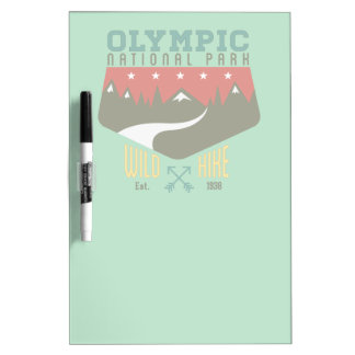 Olympic National Park Dry-Erase Board