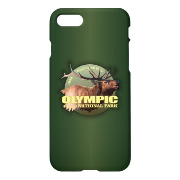 Beach Themed Olympic National Park (Elk) WT iPhone 7 Case