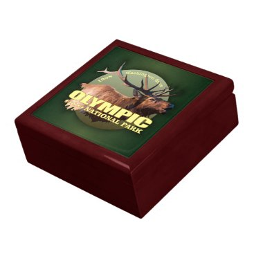 Beach Themed Olympic National Park (Elk) WT Jewelry Box