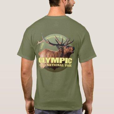 USA Themed Olympic National Park (Elk) WT T-Shirt