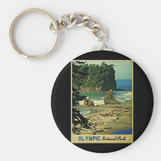 Olympic National Park Keychains