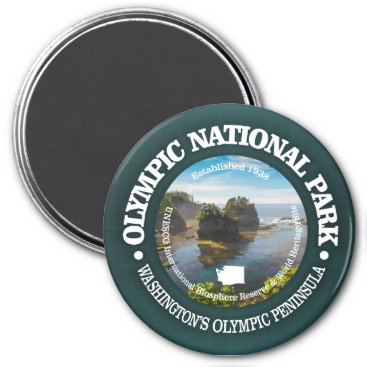 USA Themed Olympic National Park Magnet