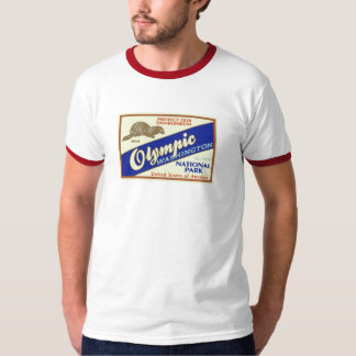 Olympic National Park (Mink) T-Shirt