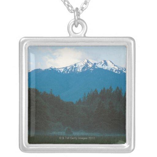 Olympic National Park , Mt. Olympus , Washington Custom Necklace