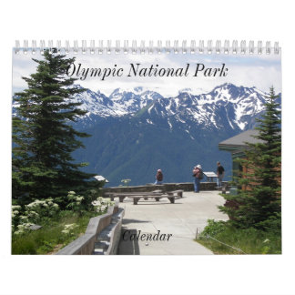Olympic National Park Photo Calendar