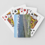 """Olympic National Park Photo Playing Cards<br><div class=""""desc"""">Start a game of poker or other card game with this deck of playing cards that features a scenic photo image of meadow wildflowers and mountains in Olympic National Park, Washington, as seen from Hurricane Ridge. Makes a great souvenir gift for family and friends! To see other products we have...</div>"""