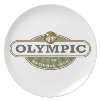 Olympic National Park Plate