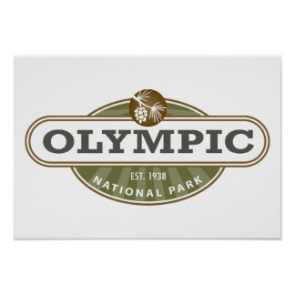 Olympic National Park Posters
