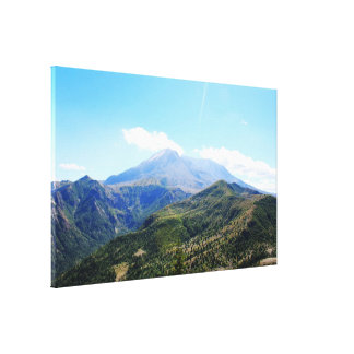 Olympic National Park, Seattle, U.S.A. Beautiful Canvas Print