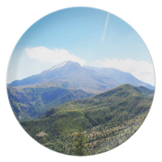 Olympic National Park, Seattle, U.S.A. Beautiful Melamine Plate