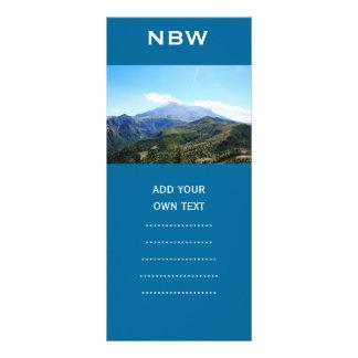 Olympic National Park, Seattle, U.S.A. Beautiful Rack Card