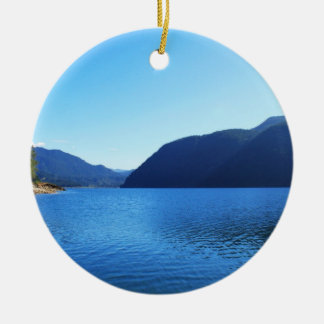 Olympic National Park, Seattle, U.S.A. Ceramic Ornament