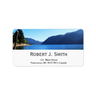 Olympic National Park, Seattle, U.S.A. Personalized Address Labels