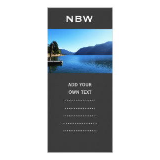 Olympic National Park, Seattle, U.S.A. Rack Card