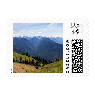Olympic National Park Stamp