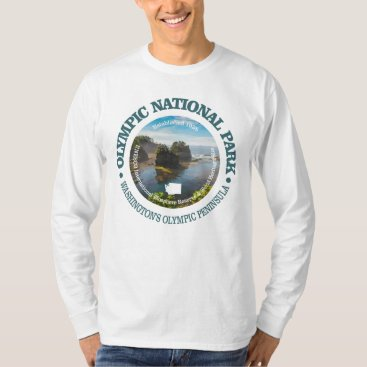 USA Themed Olympic National Park T-Shirt