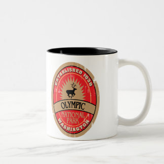 Olympic National Park Two-Tone Coffee Mug