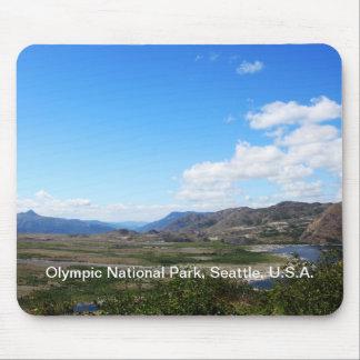 Olympic National Park, U.S.A. Beautiful landscape Mousepad