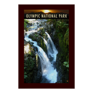 Olympic NP-Sol Duc-Poster Poster