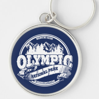 Olympic Old Circle Blue Keychain