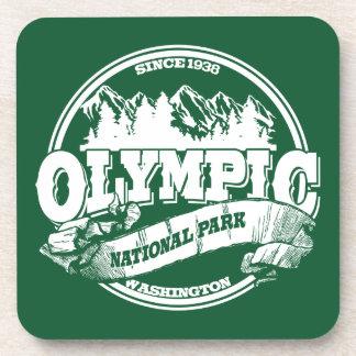 Olympic Old Circle Green Coaster