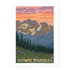 Olympic Peninsula, WashingtonSpring Flowers Postcard