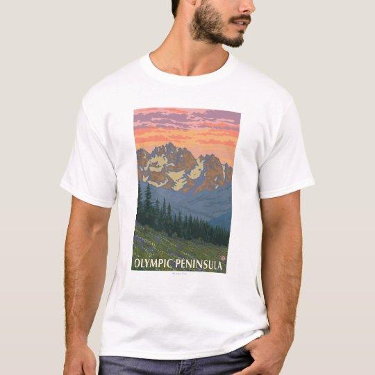 Olympic Peninsula, WashingtonSpring Flowers T-Shirt