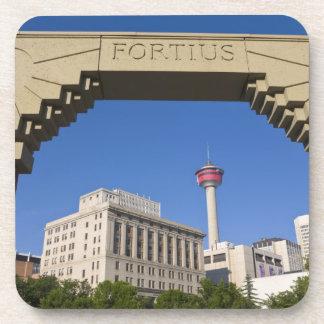Olympic Plaza and Calgary Tower, Alberta, Canada Coaster