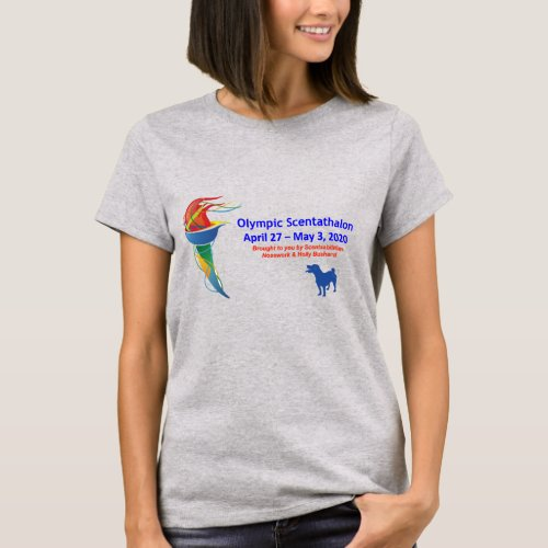 Olympic Scentathalon Ladies T_shirt