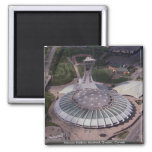 Olympic Stadium, Montreal, Quebec, Canada Magnet
