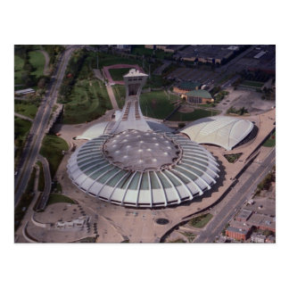 Olympic Stadium Montreal Quebec Canada Postcard