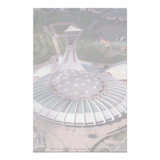 Olympic Stadium, Montreal, Quebec, Canada Custom Stationery