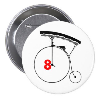 Olympic Swimmer 8 Button