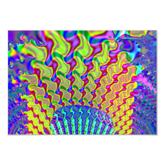 Olympic Torch Fractal Card