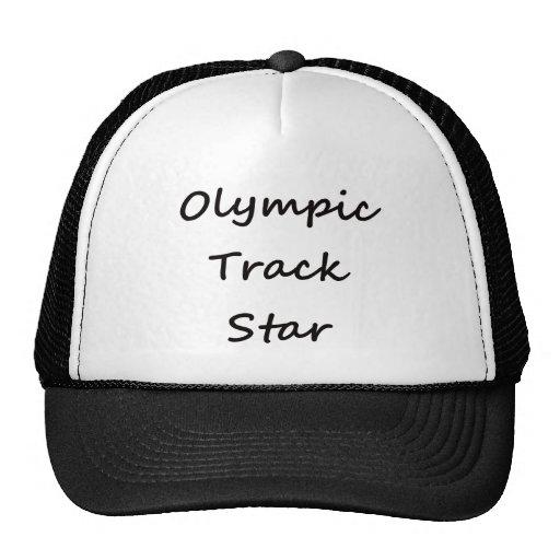 Olympic Track Star Trucker Hats