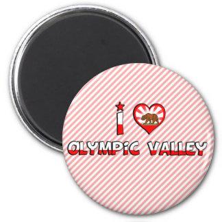 Olympic Valley, CA Fridge Magnets
