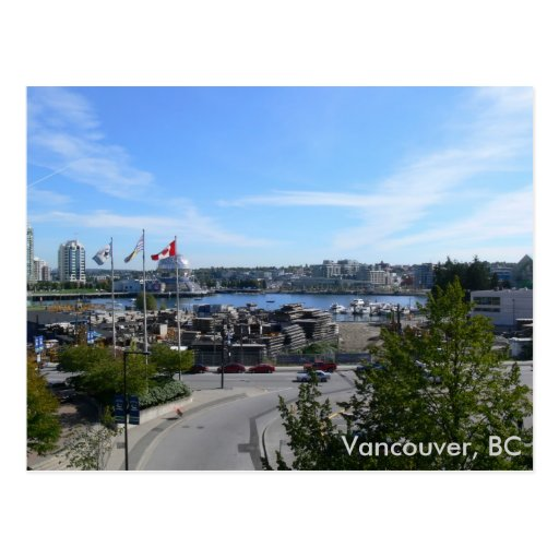Olympic Village, Vancouver, BC Postcard
