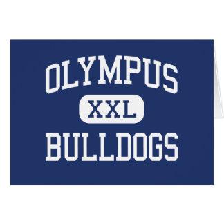Olympus - Bulldogs - Junior - Salt Lake City Utah Greeting Card