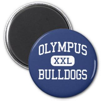 Olympus - Bulldogs - Junior - Salt Lake City Utah Refrigerator Magnet