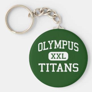 Olympus - Titans - High - Salt Lake City Utah Key Chain