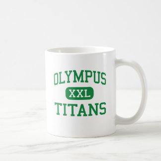 Olympus - Titans - High - Salt Lake City Utah Coffee Mugs