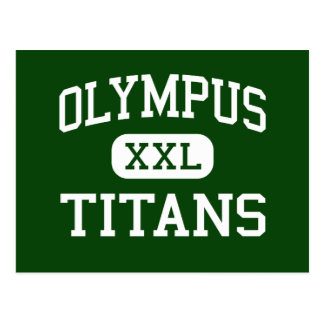 Olympus - Titans - High - Salt Lake City Utah Postcard