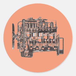 OM617 Engine Sticker