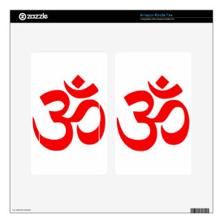 Om (ॐ) - Hindu and Buddhist Symbol Kindle Fire Decals
